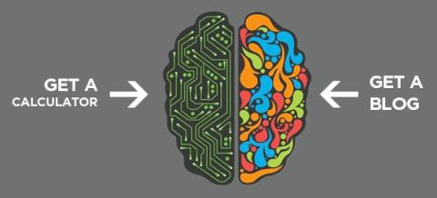 Are you right-brained? That's just another of the Top 5 Reasons You Need A Blog