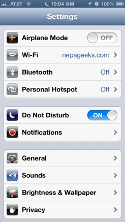 iphone do not disturb bug won't turn off how to turn off do not disturb