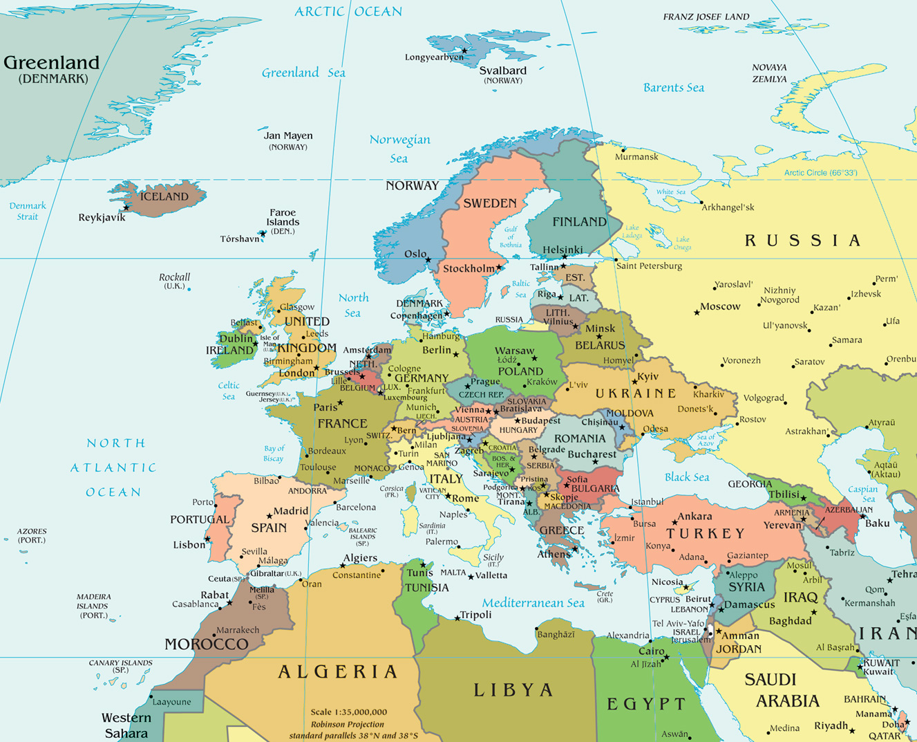 Geopolitics Of Europe And The Iron Law Of Evolutionary