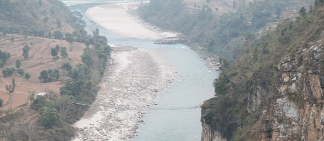Budhi Gandaki HEP Proposed Dam Site