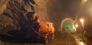 Access Tunnel Under-construction