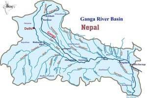 Ganga river Basin small