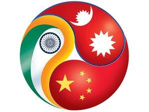nepal-china-india