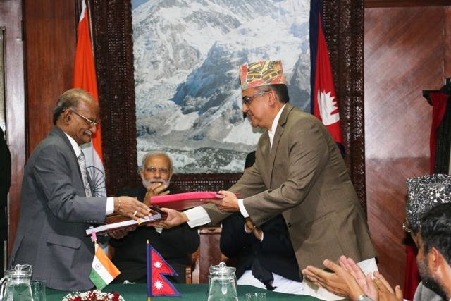 SJVN's agreement signed for the Arun III Nepal Project