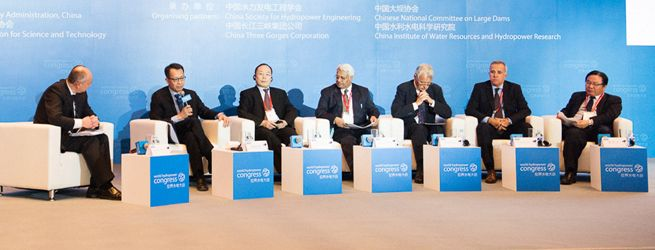 "The second part of the opening ceremonies featured a high-level panel of speakers to discuss international collaboration and hydropower development. The panel included Jin-Yong Cai, president and CEO of the International Finance Corporation. He said: ""Middle income and large emerging economies are influencing the development of hydropower worldwide through demonstration effects – by showing how these projects can be managed well to the benefit of their populations."""