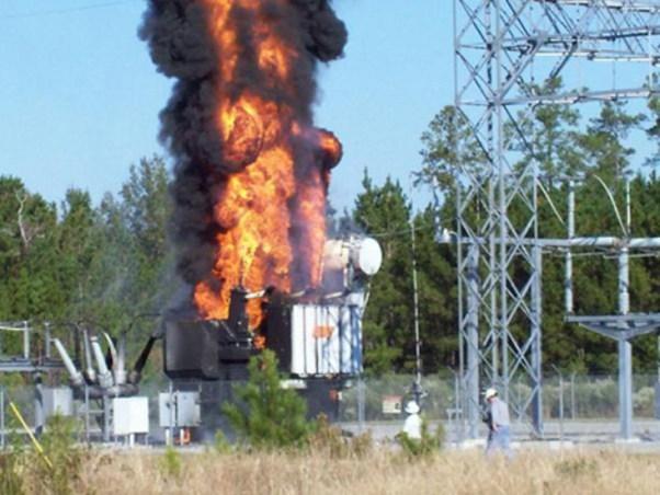 transformer-fire-in-substation