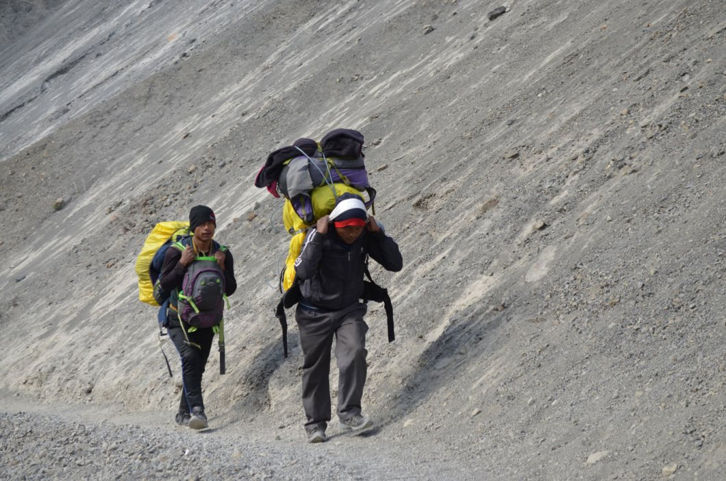 Guide and Porter for Annapurna Circuit Trek