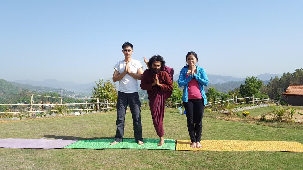 yoga retreat and trek around kathmandu valley