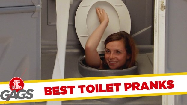 Best Public Toilets Pranks