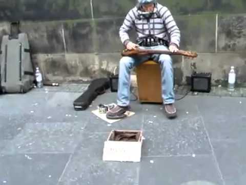 Crazy Good Multi Instrument Street Musician