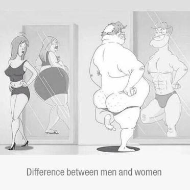 Difference between men and women!