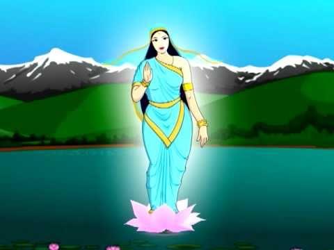 Honest Woodcutter Nepali Animation दाउरे र बन्चरो