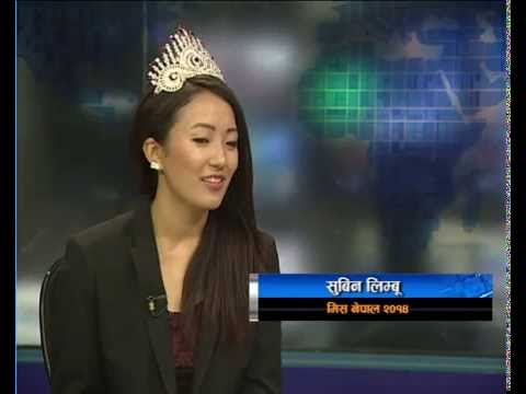 Interview with Miss Nepal Subin Limbu