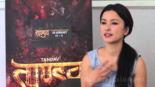 Interview with Namrata Shrestha about Tandav