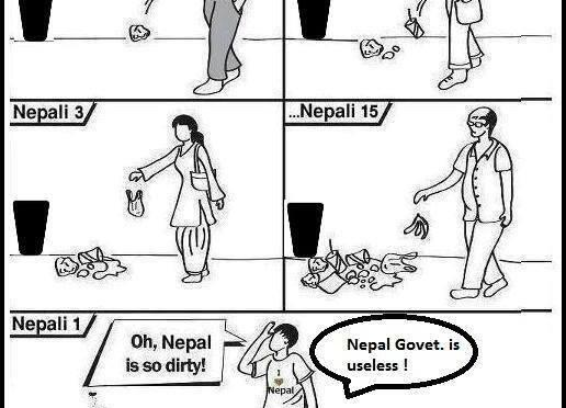 This is what makes Nepal dirty