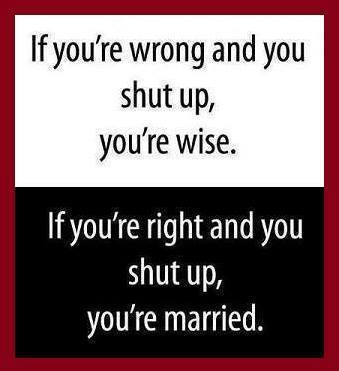 That means you are married