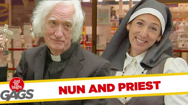 Nun and Priest Pranks