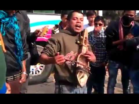 Nepali Street Singer Performing Funny Songs