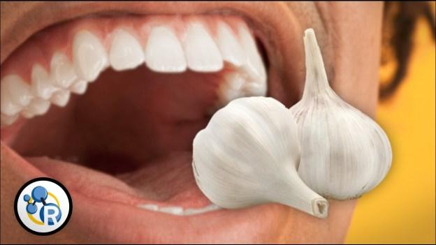 What Causes Garlic Breath?
