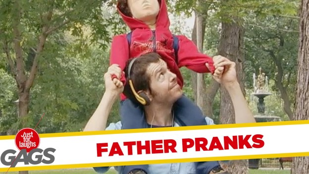 Best Father Pranks by Just For Laughs Gags