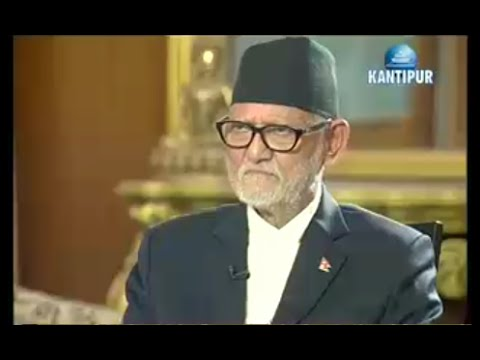 Interview with P.M Sushil Koirala – Fireside