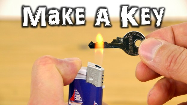 How To Make An Emergency Spare Key!