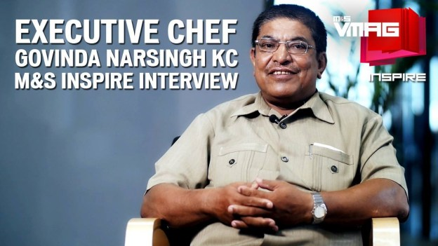 M&S INSPIRE: Interview with Executive Chef Govinda Nursing KC
