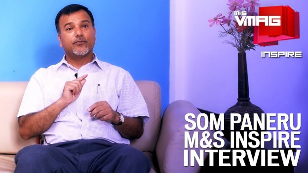 M&S INSPIRE: In Conversation with Som Paneru