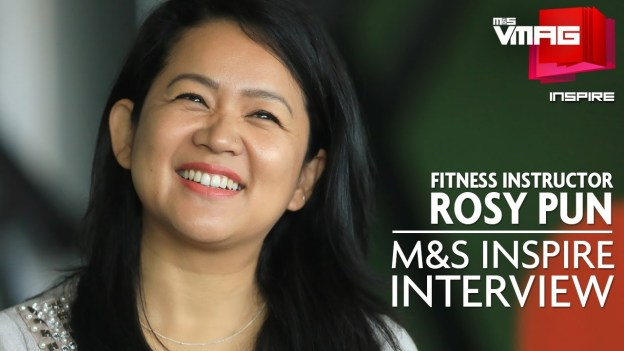 M&S INSPIRE: Fitness Instructor Rosy Pun