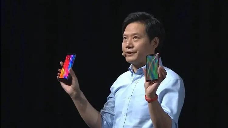 Lei Jun Mi 8 phone