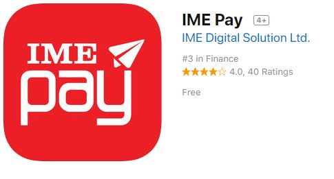 IME PAY app store