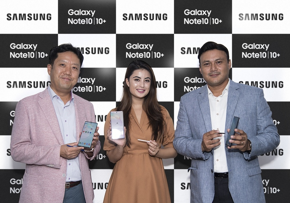 Samsung Note 10 plus Nepal