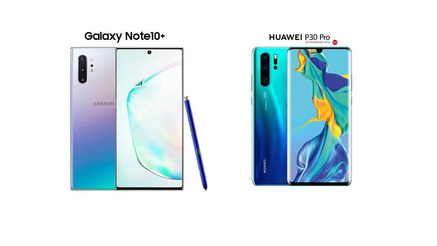 Note 10 plus vs P30 Pro