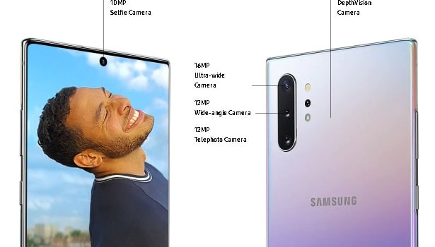 Samsung Note 10 plus camera