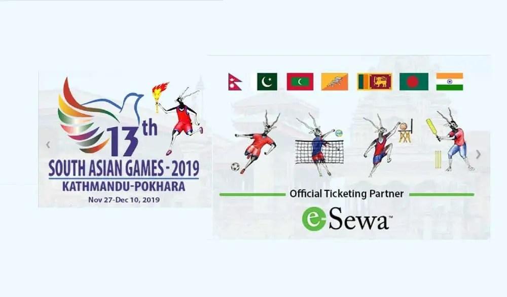 SAG games kathmandu ticket