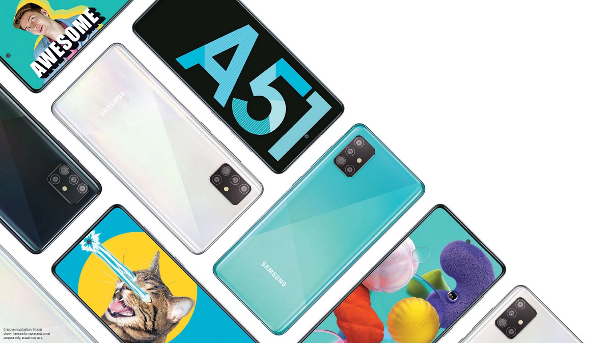 Samsung A51 world best selling smartphone 2020