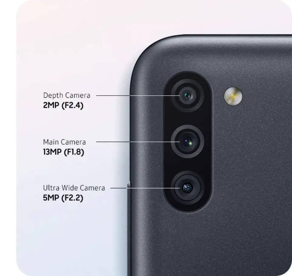 Samsung M11 camera