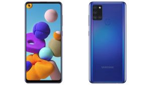 Samsung Galaxy A21s price in Nepal design