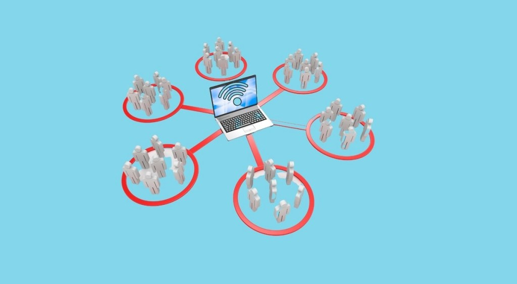 Internet connection sharing among homes in Nepal