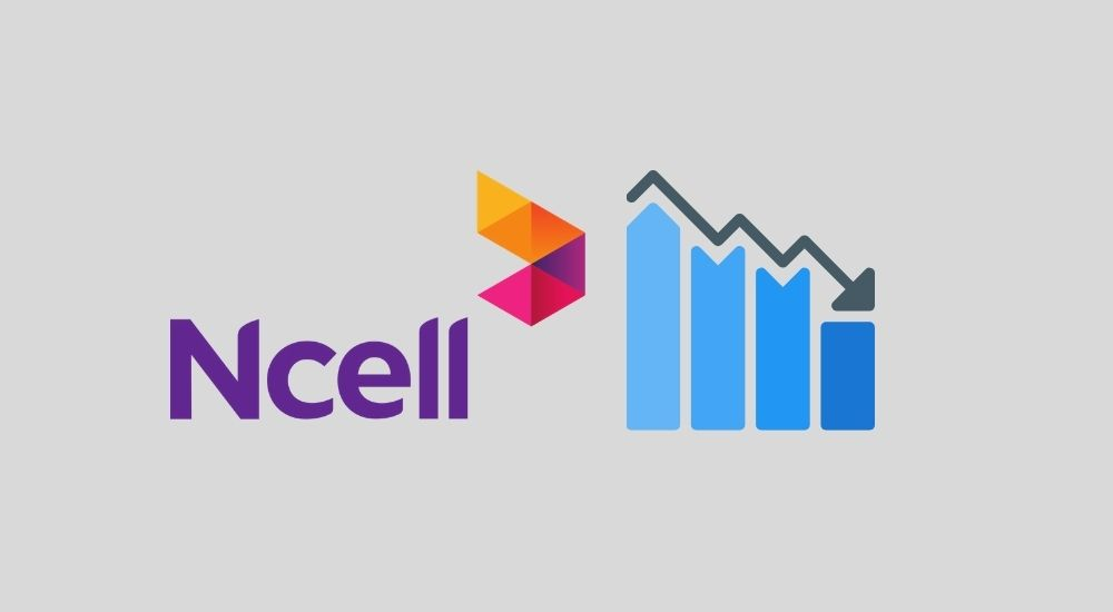 Ncell revenue decline