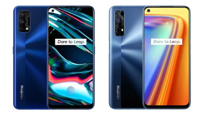 Realme 7 and 7 pro price in nepal