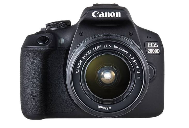 Eos 2000D 24.2 MP DSLR Camera