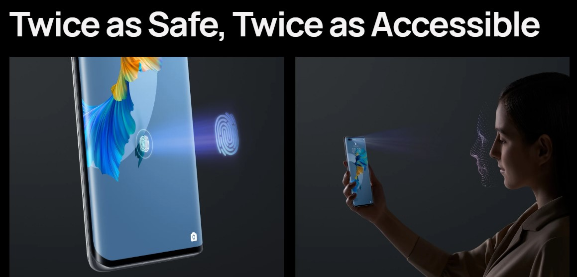 huawei mate 40 series face recognition