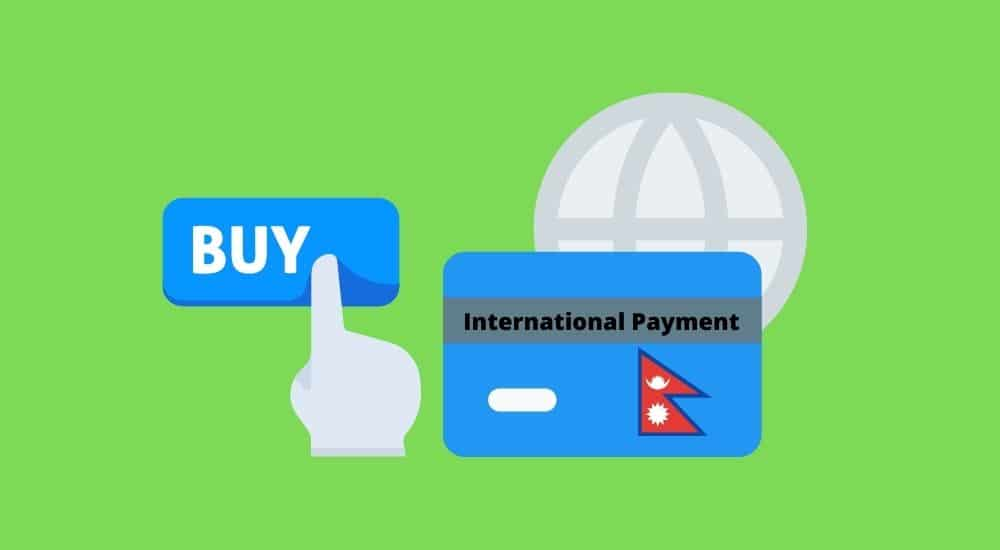 International payment from Nepal