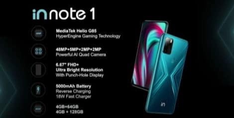 Micromax In Note 1 Specs