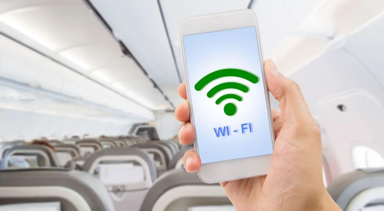 in-flight wifi internet service