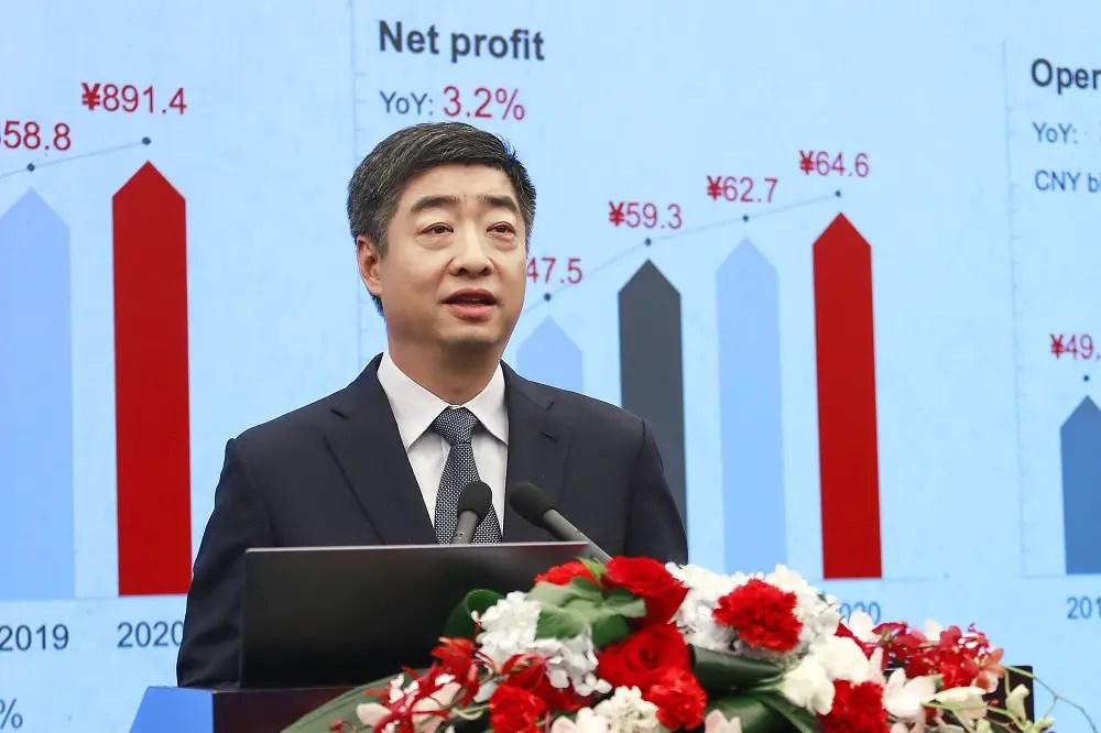 Ken Hu Huawei Annual report 2020