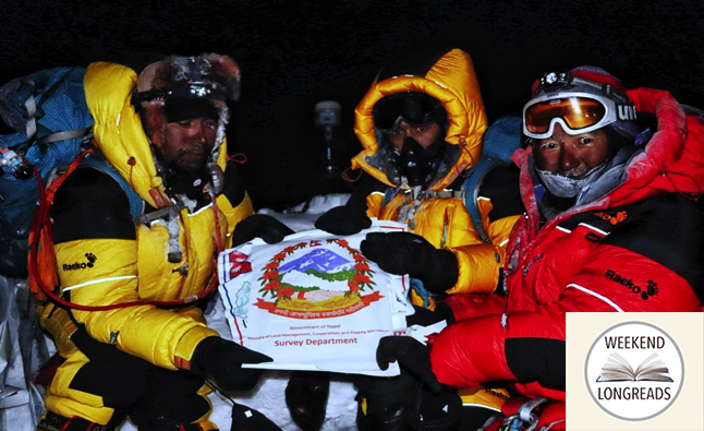 Measuring Mt Everest: because it is there | Nepali Times