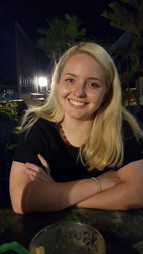 Amy Falzo in Nepal