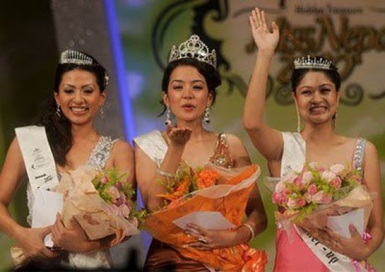 Sadichha Shrestha in Miss Nepal 2010